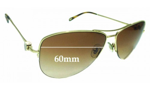 Sunglass Fix Sunglass Replacement Lenses for Tiffany & Co TF 3021 - 60mm Wide
