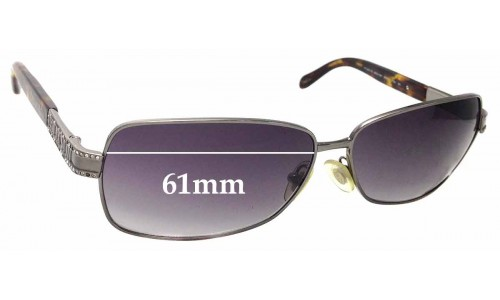 Sunglass Fix Sunglass Replacement Lenses for Tiffany & Co TF 3001-B - 61mm Wide