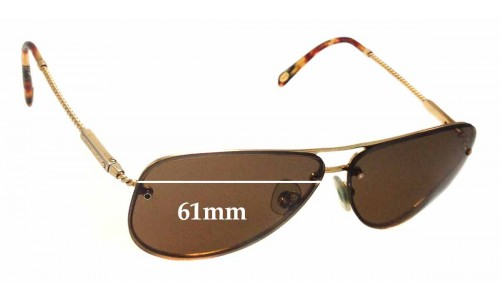 Sunglass Fix Sunglass Replacement Lenses for Tiffany & Co TF 3039-B - 61mm Wide