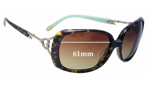 Sunglass Fix Sunglass Replacement Lenses for Tiffany & Co TF 4055-B - 61mm Wide