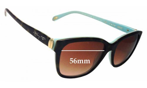 Sunglass Fix Sunglass Replacement Lenses for Tiffany & Co TF 4083 - 56mm Wide