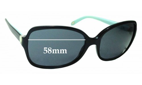 Sunglass Fix Sunglass Replacement Lenses for Tiffany & Co TF 4085-H - 58mm Wide