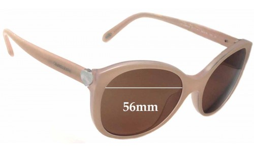 Sunglass Fix Sunglass Replacement Lenses for Tiffany & Co TF 4086-H - 56mm Wide