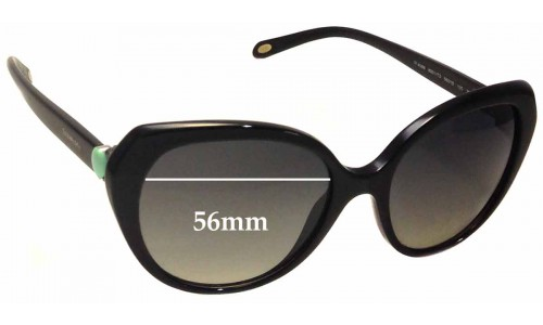 Sunglass Fix Sunglass Replacement Lenses for Tiffany & Co TF 4088 - 56mm Wide
