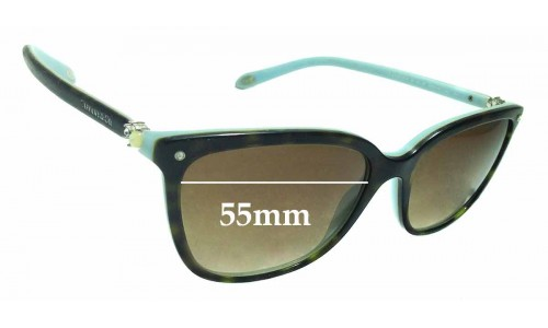 Sunglass Fix Sunglass Replacement Lenses for Tiffany & Co TF 4105-HB - 55mm Wide