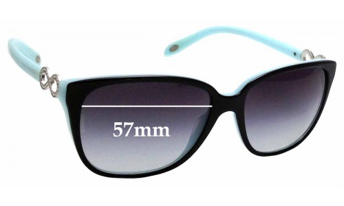 Sunglass Fix Sunglass Replacement Lenses for Tiffany & Co TF 4111-B - 57mm Wide