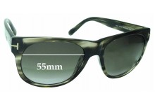 9b2db1fbdb6 Sunglass Fix Sunglass Replacement Lenses for Tom Ford Astor TF299 - 55mm  Wide