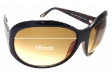 686df2ff6c Sunglass Fix Sunglass Replacement Lenses for Tom Ford Fiona TF47 - 65mm Wide