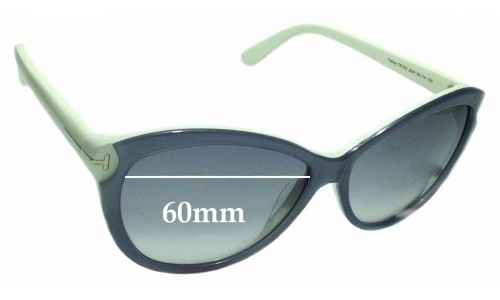 Sunglass Fix Sunglass Replacement Lenses for Tom Ford Telma TF325 - 60mm wide
