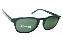 Sunglass Fix Sunglass Replacement Lenses for Tommy Hilfiger 86020 - 50mm Wide