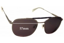 Sunglass Fix Sunglass Replacement Lenses for Tommy Hilfiger TH Sun RX 27 - 57mm Wide