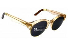 Sunglass Fix Sunglass Replacement Lenses for Toms Charlie Rae - 52mm Wide