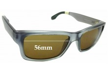Sunglass Fix Sunglass Replacement Lenses for Toms Culver - 56mm Wide