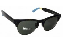 Sunglass Fix Sunglass Replacement Lenses for Toms Lobamba S007 - 50mm Wide