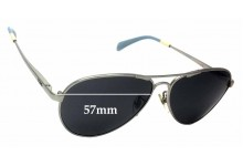 Sunglass Fix Sunglass Replacement Lenses for Toms Kilgore S010 - 57mm Wide