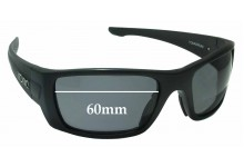 Sunglass Fix Sunglass Replacement Lenses for Tonic Youranium - 60mm Wide