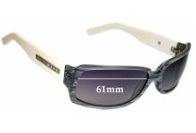 Sunglass Fix Sunglass Replacement Lenses for Tony Morgan - 61mm Wide