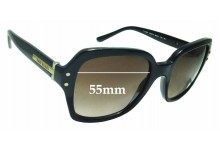 Sunglass Fix Sunglass Replacement Lenses for Tory Burch TY7082 - 55mm Wide