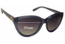 Sunglass Fix Sunglass Replacement Lenses for Tory Burch TY7045 - 57mm Wide