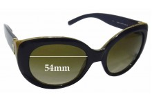 Sunglass Fix Sunglass Replacement Lenses for Tory Burch TY7076 - 54mm Wide