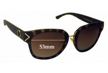Sunglass Fix Sunglass Replacement Lenses for Tory Burch TY9041 - 53mm Wide