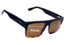 Sunglass Fix Sunglass Replacement Lenses for Twice Eyewear Game - 55mm Wide