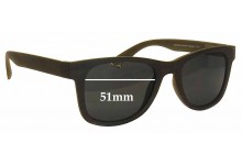 Sunglass Fix Sunglass Replacement Lenses for Thorberg Sonja - 51mm Wide