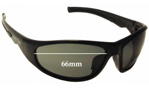 Sunglass Fix Sunglass Replacement Lenses for Ugly Fish PE 0330 - 66mm Wide