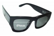 Sunglass Fix Sunglass Replacement Lenses for Valley City Sabbath - 49mm Wide