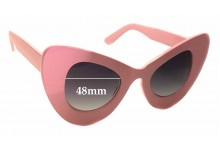 Sunglass Fix Sunglass Replacement Lenses for Valley City VC3100 - 48mm Wide