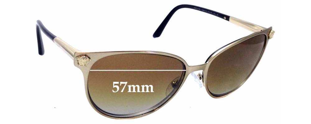 d423247864 Sunglass Fix Sunglass Replacement Lenses for Versace MOD 2168 - 57mm wide