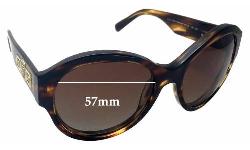 Sunglass Fix Sunglass Replacement Lenses for Versace MOD 4254 - 57mm Wide