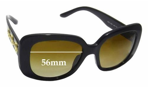 Sunglass Fix Sunglass Replacement Lenses for Versace MOD 4284 - 56mm Wide