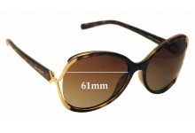 Sunglass Fix Sunglass Replacement Lenses for Vogue VO2651-S - 61mm Wide
