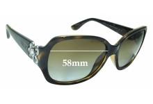Sunglass Fix Sunglass Replacement Lenses for Vogue VO2778-SB - 58mm Wide