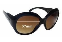 Sunglass Fix Sunglass Replacement Lenses for Vogue VO2565-SB - 57mm Wide