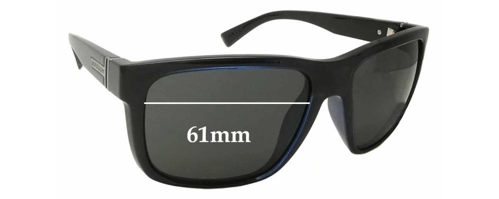 a92f1217c2 Von Zipper Maxis Sunglass Replacement Lenses - 61mm wide