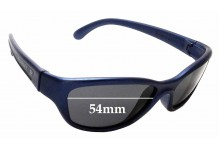 Sunglass Fix Sunglass Replacement Lenses for Vuarnet Pouilloux 107 - 54mm Wide
