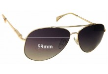 Sunglass Fix Sunglass Replacement Lenses for Witchery Malia - 59mm Wide
