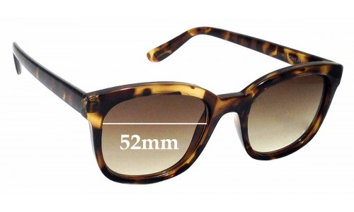 Sunglass Fix Sunglass Replacement Lenses for Witchery Olivia - 52mm Wide