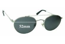 Sunglass Fix Sunglass Replacement Lenses for Wonderland Indio - 52mm Wide
