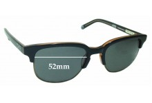 Sunglass Fix Sunglass Replacement Lenses for Yok & Sheryo Weedy Limited Edition - 52mm Wide