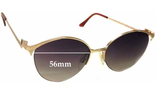 Sunglass Fix Sunglass Replacement Lenses for Yves Saint Laurent 4007 - 56mm wide