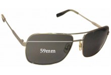 Sunglass Fix Sunglass Replacement Lenses for Zeiss Tumi Capilano - 59mm Wide