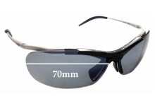 Sunglass Fix Sunglass Replacement Lenses for Zerorh+ Angelfish RH58601 - 70mm Wide
