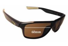 Sunglass Fix Sunglass Replacement Lenses for Nike Premier 6.0 EVO789 - 60mm Wide