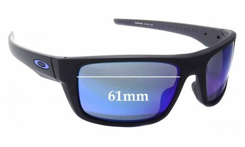 Sunglass Fix Sunglass Replacement Lenses for Oakley Drop Point OO9367 - 61mm Wide