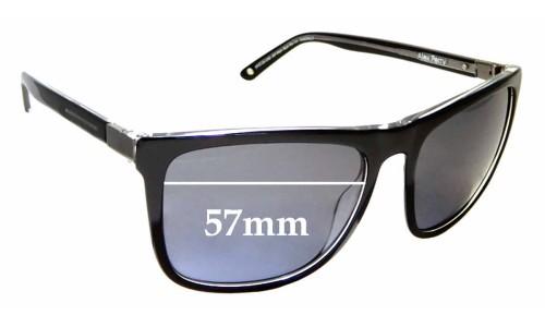 Sunglass Fix Sunglass Replacement Lenses for Alex Perry AP Sun Rx 11 - 57mm Wide