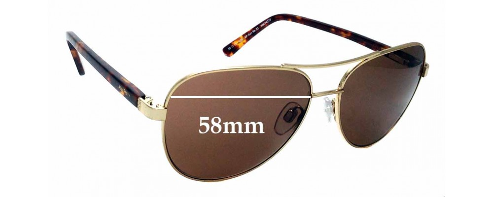 03a2be0fa4 Sunglass Fix Sunglass Replacement Lenses for Alex Perry AP Sun Rx 32 - 58mm  Wide