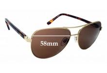 Sunglass Fix Sunglass Replacement Lenses for Alex Perry AP Sun Rx 32 - 58mm Wide